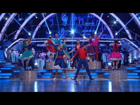 bbcone - http://www.bbc.co.uk/strictly All couples compete in the Swing-a-thon!