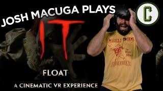 Josh Macuga Floats and Cries Through IT Cinematic VR Experience - Collider Video by Collider