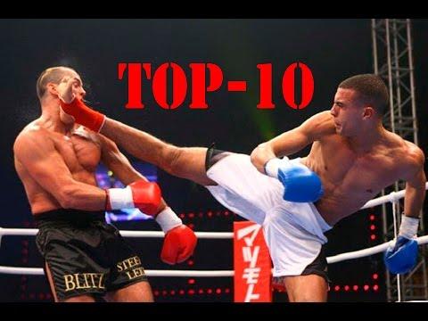 TOP 10 нокаутов | Кикбоксинг (видео)