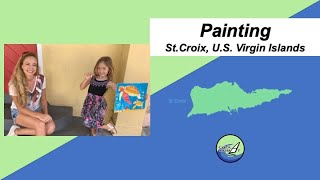 Painting: St.Croix, U.S. Virgin Islands