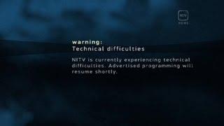 Happened before an NITV News bulletin.