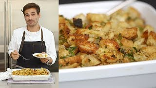 How to Make the Perfect Bread and Sage Stuffing by Everyday Food