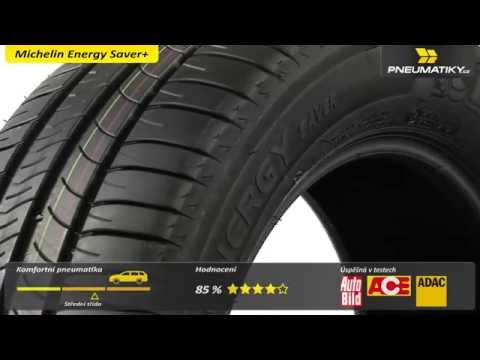 Youtube Michelin Energy Saver+ 195/55 R16 87 T GreenX Letní