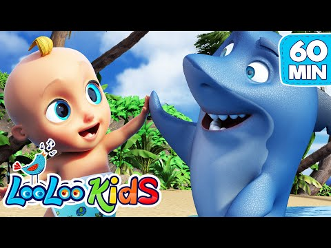 Baby Shark - Educational Songs for Children | LooLoo Kids - Thời lượng: 1:00:08.