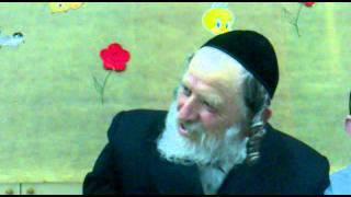 """הרב יהודה פורוש – פרשת שלח לך (ה'תשע""""א)"""