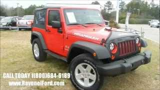 2009 JEEP WRANGLER JK X 4X4 Review * Charleston SUV Videos * For Sale @ Ravenel Ford