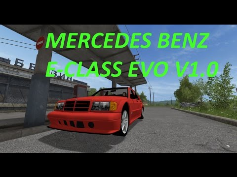 Mercedes Benz E-Class Evo v1.0