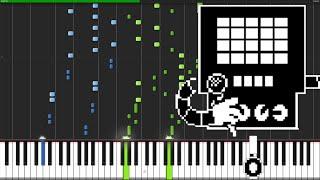 Metal Crusher - Undertale [Piano Tutorial]