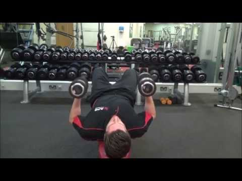 Dumbbell Tricep Press For Muscle Mass & Strength in The Arms