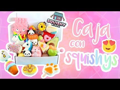 Tarjetas de amor - Caja de squishys te REGALO una ! squishy kiosk giveaway