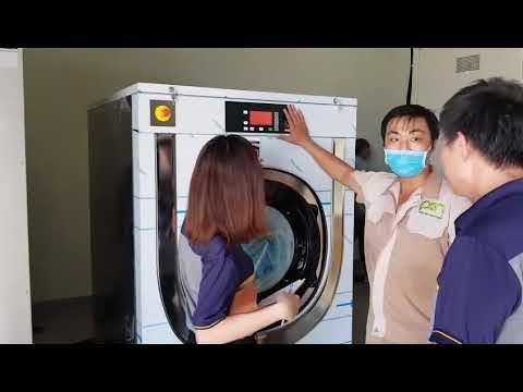 Hướng dẫn vận hành máy giặt công nghiệp
