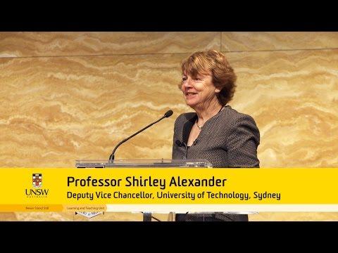 LTU Forum Keynote: Prof. Shirley Alexander