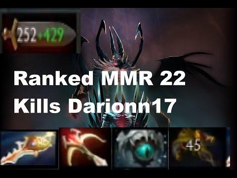 Dota 2 TerrorBlade Ranked MMR 22 Kills | Darionn17