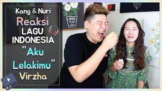 "Video Reaksi Suami&Istri Korea Lagu ""Aku Lelakimu"" (Virzha) gile.. kok baru tau lagu ini!!! MP3, 3GP, MP4, WEBM, AVI, FLV Juli 2018"