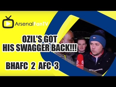 his - Ozil's Got His Swagger Back!!! - Brighton 2 Arsenal 3 AFTV ONLINE SHOP : http://goo.gl/rin8oW AFTV APP: IPHONE : http://goo.gl/1TNrv0 AFTV APP: ANDROID: http://goo.gl/uV0jFB AFTV WEBSITE:...