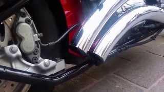 9. Yamaha roadstar 1700 cc año 2006