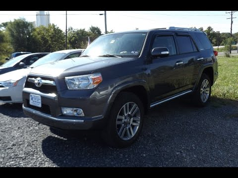 2013 Toyota 4 Runner Limited 4.0L V6 Start Up, Tour, and Review