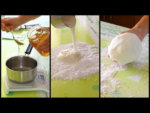 come fare la pasta di zucchero in casa