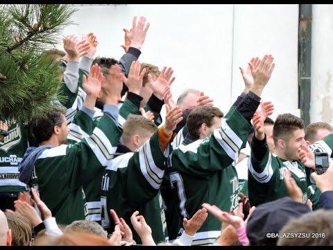 HC Nové Zámky - oslava úspešnej sezóny na Hlavnom námestí