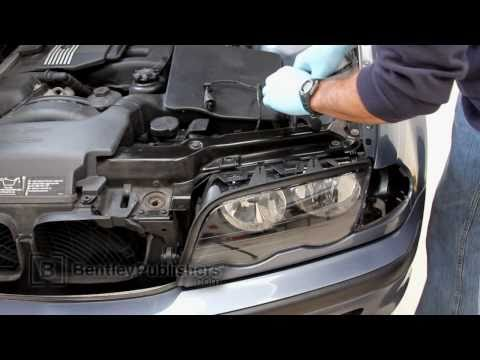 BMW 3 Series (E46) 1999-2005 - Headlight Assembly & Lens DIY, how to replace