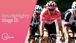Giro d'Italia: Stage 15 - Highlights