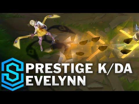 Evelynn KDA Hàng Hiệu - Prestige K/DA Evelynn Skin