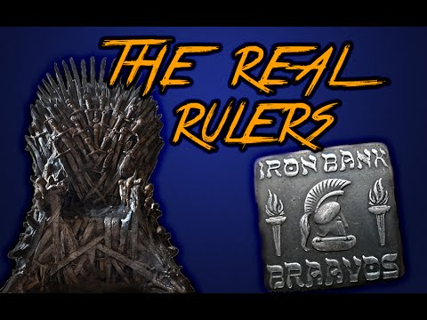 The Throne SERVES the IRON BANK... THEORY (Game of Thrones) (видео)
