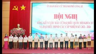 Thành phố Uông Bí: Tổng kết công tác bầu cử