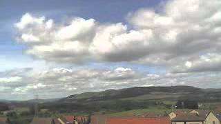 25 July 2009 - WeatherCam Timelapse - FifeWeather.co.uk