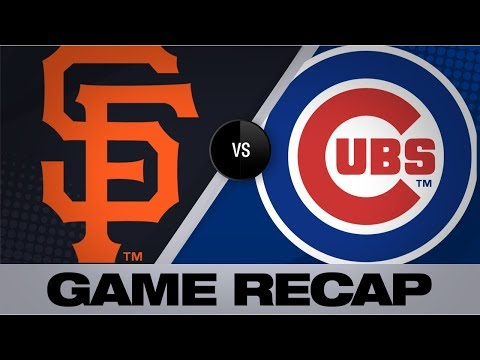 Video: Hendricks leads Cubs to shutout victory | Giants-Cubs Game Highlights 8/22/19