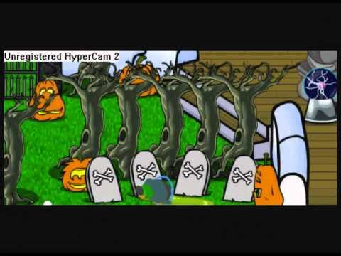 Club Penguin !!!La Noche De Terror !!! (1 parte)