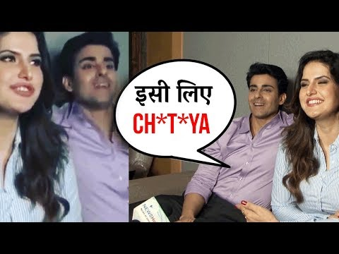 Zarine Khan says CHU**YA By Mistake on Camera | Za