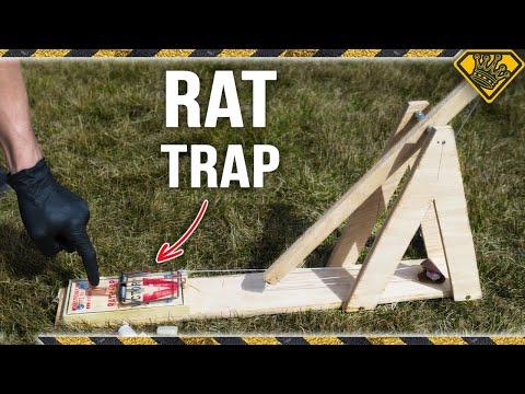 RAT TRAP Trebuchet