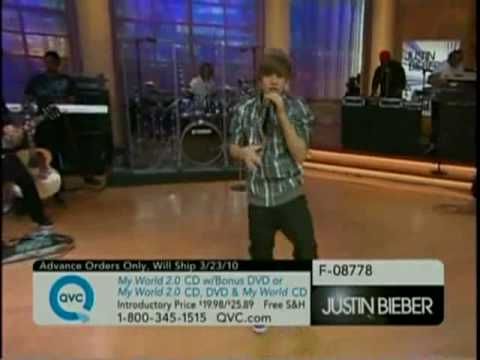 Justin Bieber - One Time (Live On QVC)