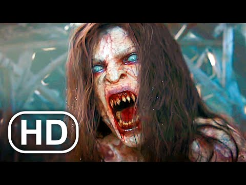 The Witcher Geralt Vs Vampire Monster Fight Scene Cinematic HD The Witcher 3 Cinematics