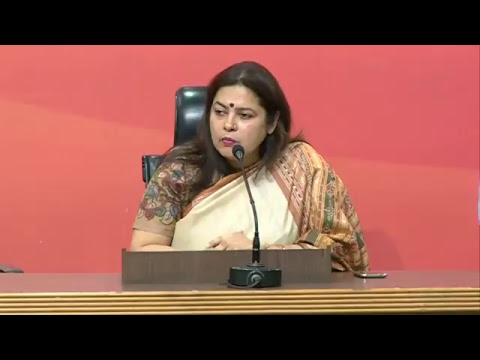 Press Conference by Smt Meenakshi Lekhi - 07.04.2017