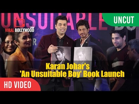 UNCUT - An Unsuitable Boy Book Launch | Karan Johar, Shahrukh Khan, Alia Bhatt, Siddharth Malhotra