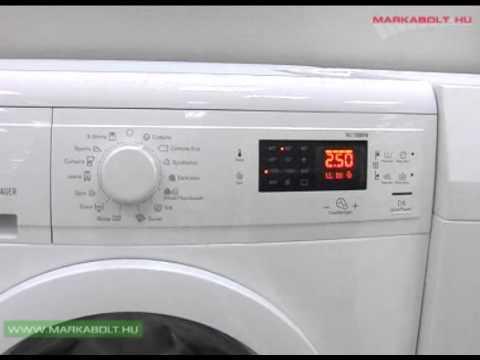 Karakteristike in delovanje kontrolnega zaslona pralnega stroja Electrolux EWP 31274 TW