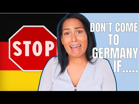 Living in Germany might not be for you if.....