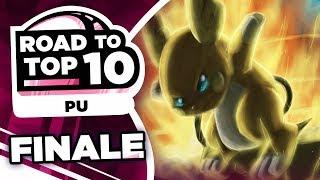 THE FINALE! Pokemon Showdown Road to Top Ten: Pokemon Ultra Sun & Moon PU w/ PokeaimMD #14 by PokeaimMD
