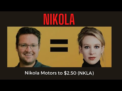 Nikola Motors to $2.50 NKLA