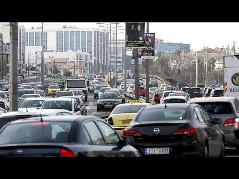 Ελλάδα: Κυκλοφοριακό χάος από την απεργία στα μέσα σταθερής τροχιάς