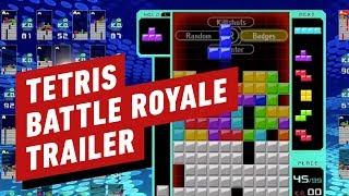 Tetris 99 Reveal Trailer - TETRIS BATTLE ROYALE! by IGN