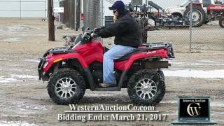 10. 817I   2006 Can am Rotax 800 4WD ATV