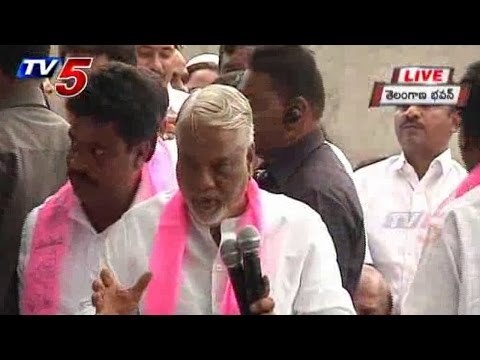 Political Leaders Join in TRS | KK Speech : TV5 News