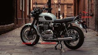 10. 2019 Triumph Bonneville T120 Diamond Edition First Look | MOTO INTRODUCTION
