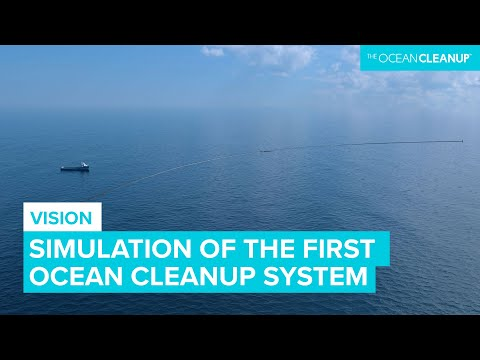 Deploying The Ocean Cleanup - Simulation