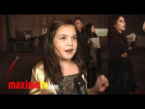 Bailee Madison Interview at The 2010 Hollywood Christmas Parade