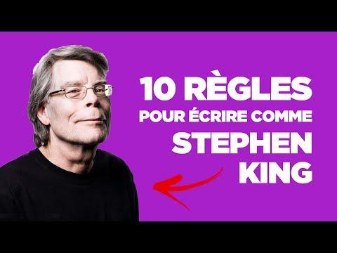 ÉCRITURE : 10 règles pour écrire comme Stephen King (facile à appliquer)