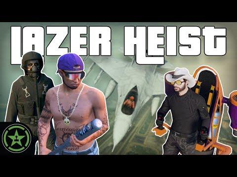 THE LAZER JOB - GTA V Heist | Let's Play